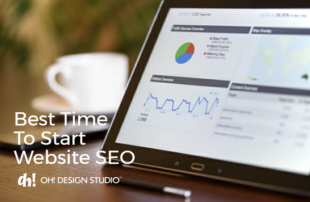 when to start seo for new website