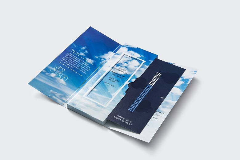 3D direct mailer brochure for real estate