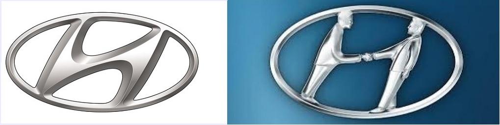 hyundai logo hidden meanings