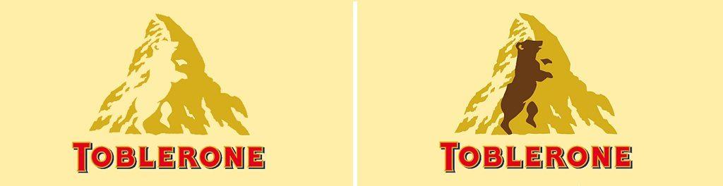 hidden meaning behind logo toblerone