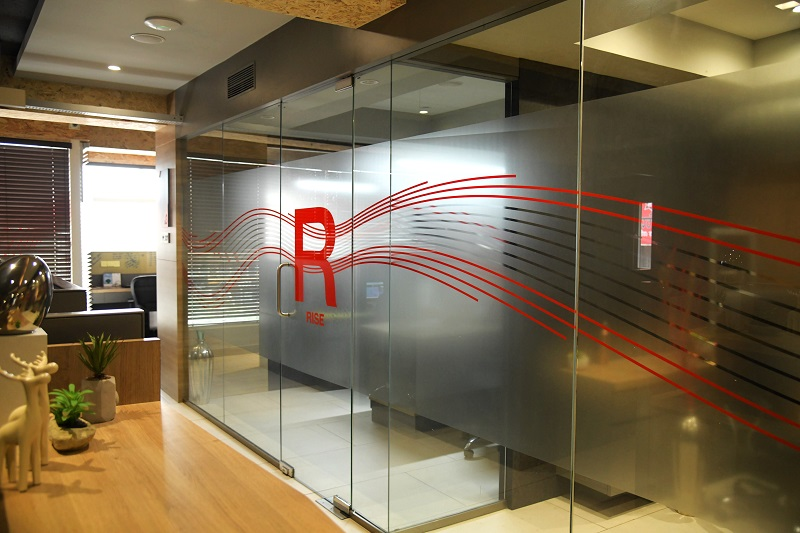 office branding and wayfinding